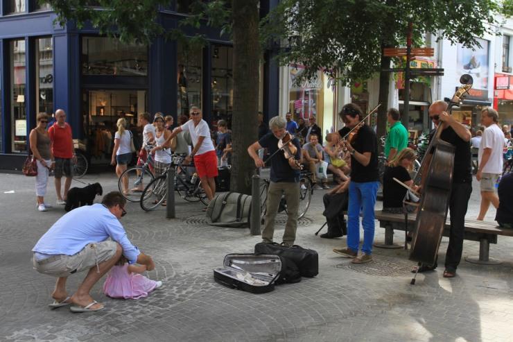 Musicians, Antwerp, Belgium