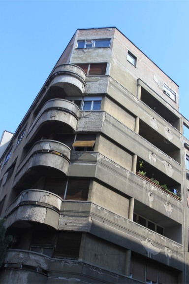 Belgrade architecture, Skadarlija district, Serbia