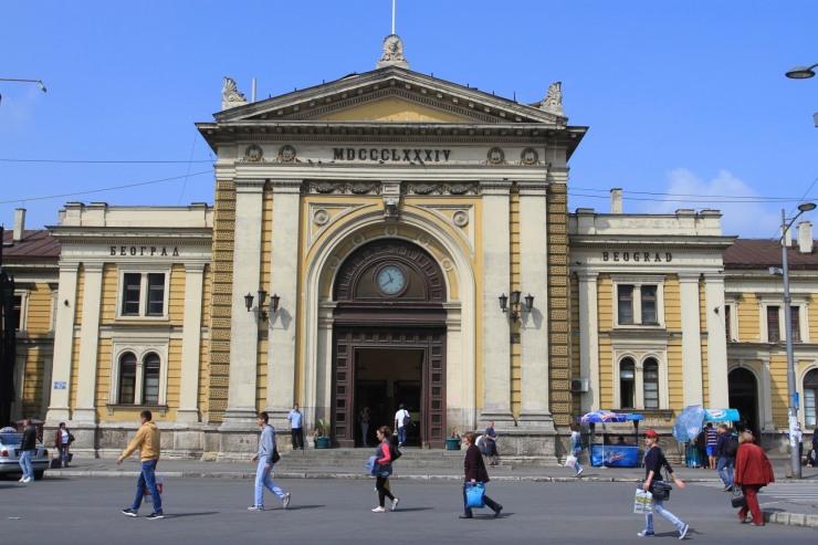 Belgrade train station, Serbia