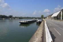 The Sava in Belgrade, Serbia