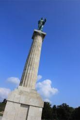 Statue in Kalemegdan Fortress, Belgrade, Serbia