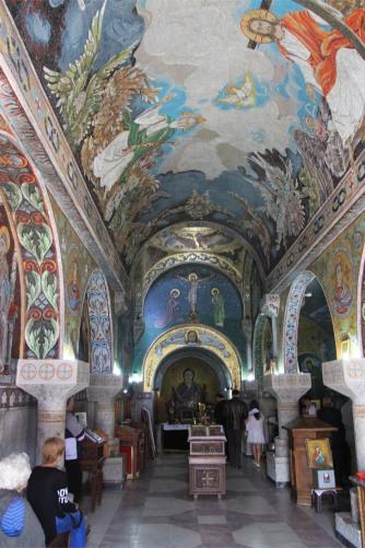 Orthodox church in Kalemegdan Fortress, Belgrade, Serbia