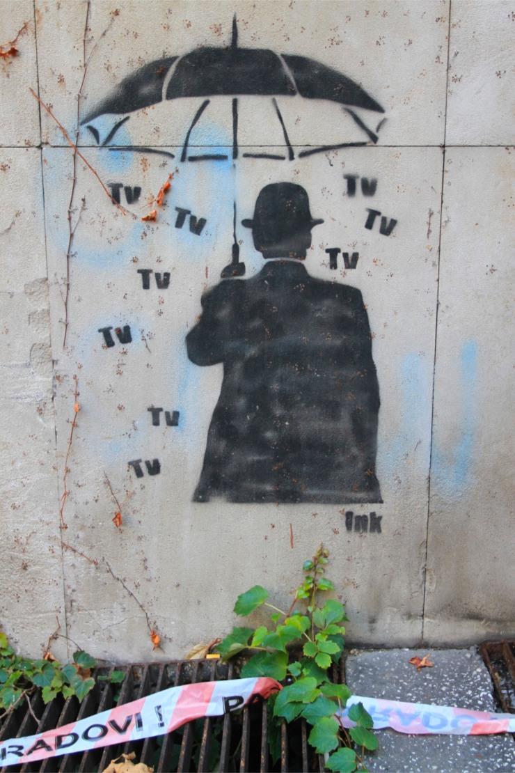 Street art, Belgrade, Serbia