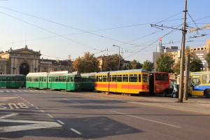 Trams, Belgrade, Serbia