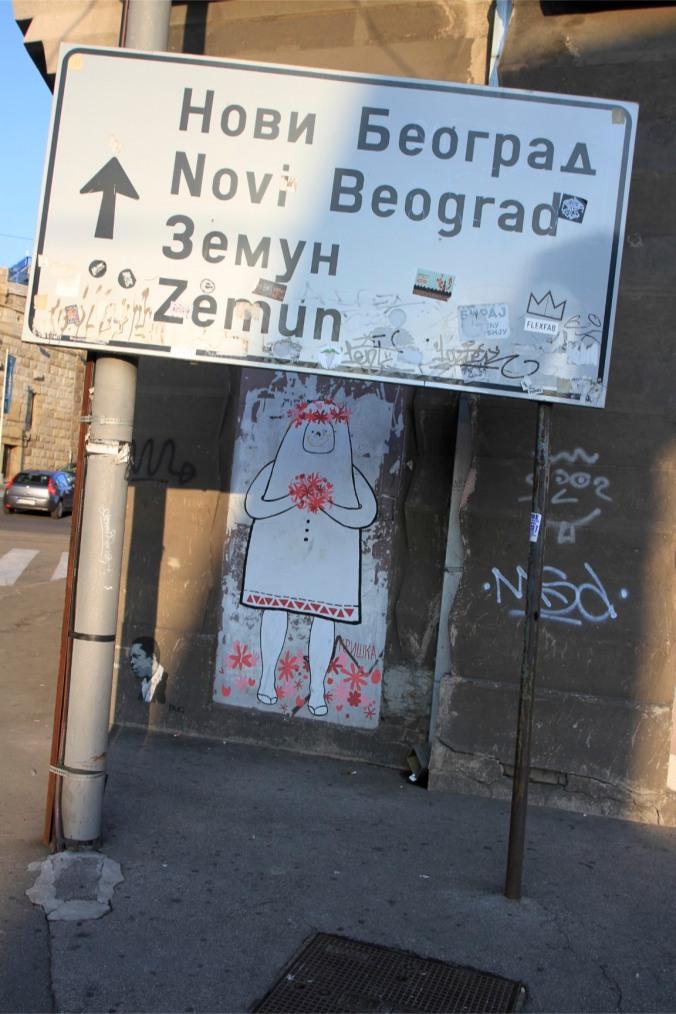 Ghost People of Savamala, Belgrade, Serbia