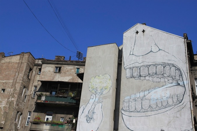 Cities v Nature, Street art, Belgrade, Serbia
