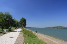 The Danube in Belgrade, Serbia