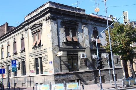 Belgrade architecture, Skadarlija district, Serbia