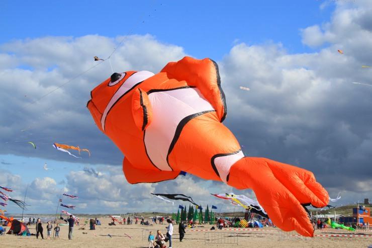 International Kite Festival in Scheveningen, The Hague, Netherlands
