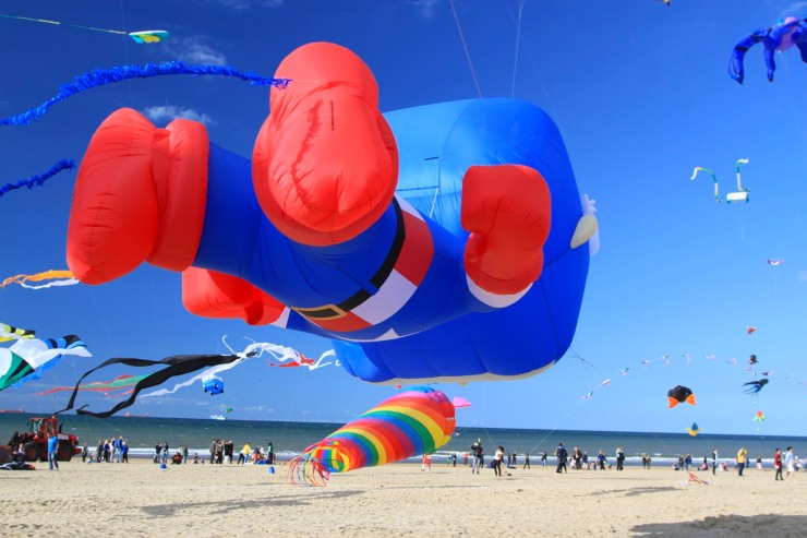 International Kite Festival in Scheveningen, The Hague, Netherlands
