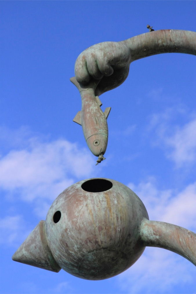The Herring Eater, Fairytales by the Sea, Scheveningen, The Hague, Netherlands