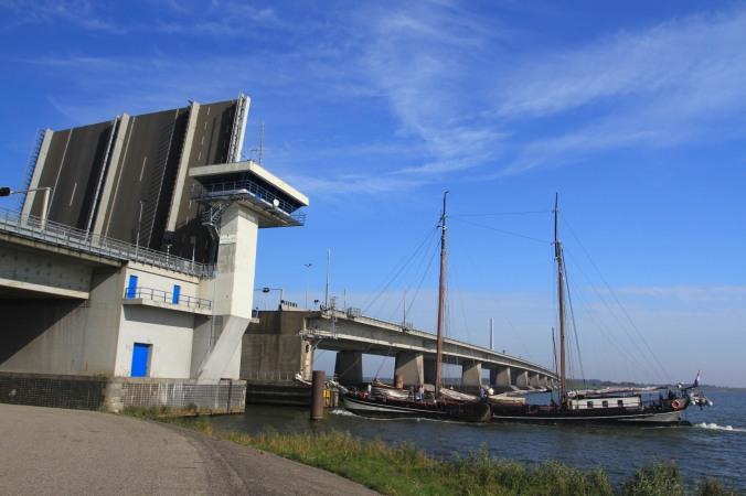 Ijsselmeer near Urk, Netherlands