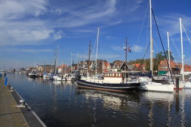Harbour, Urk, Netherlands