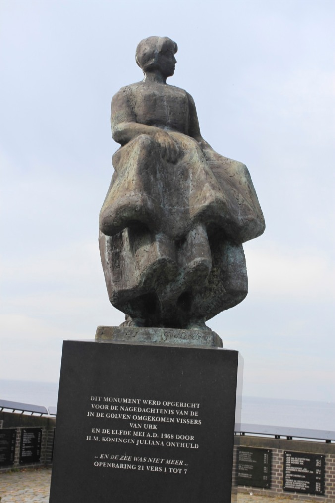 Memorial to those lost at sea, Urk, Netherlands
