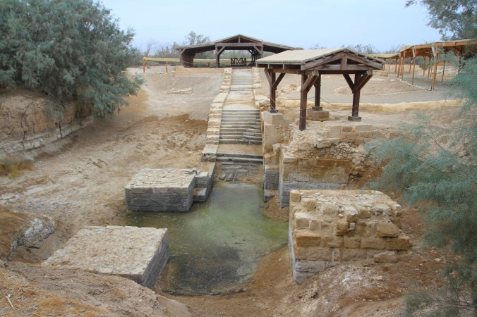 Baptismal site, Bethany Beyond the Jordan, Jordan