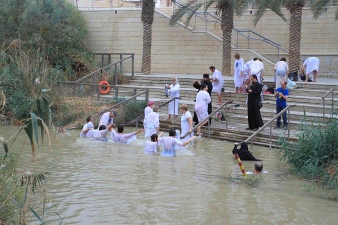 Pilgrims, Bethany Beyond the Jordan, Jordan