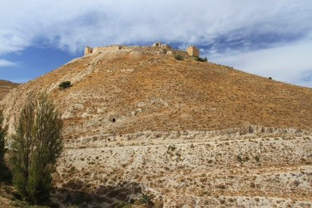 Shobak Castle, the Crusader fortress of Krak de Montreal, Jordan
