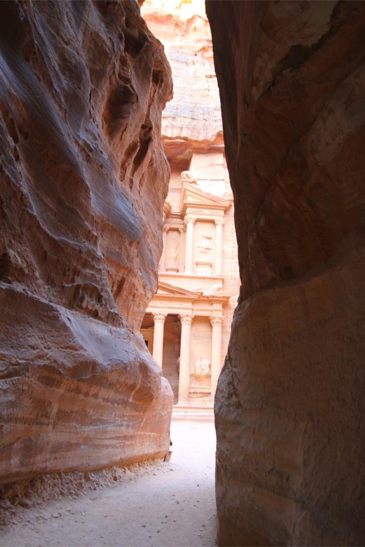 Al Khazneh, the Treasury of Petra, Jordan