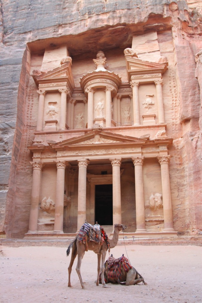Al Khazneh, the Treasury of Petra, Jordan