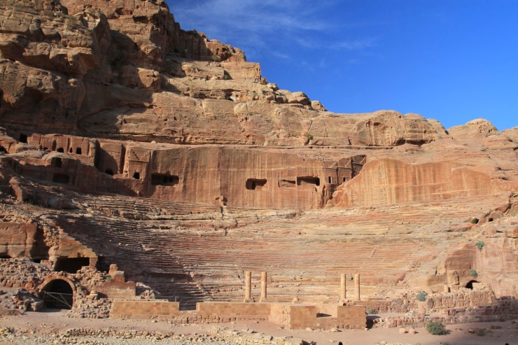 Amphitheatre, Petra, Jordan
