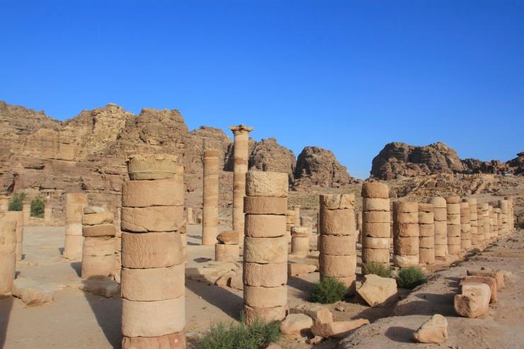 The Great Temple, Petra, Jordan