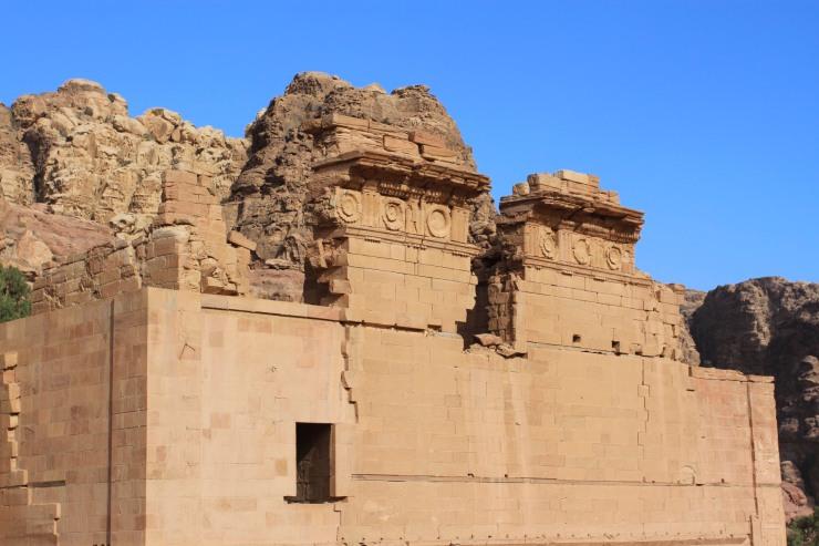 Qasr al-Bint, Petra, Jordan