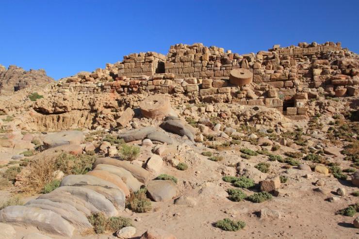 Royal Palace, Petra, Jordan