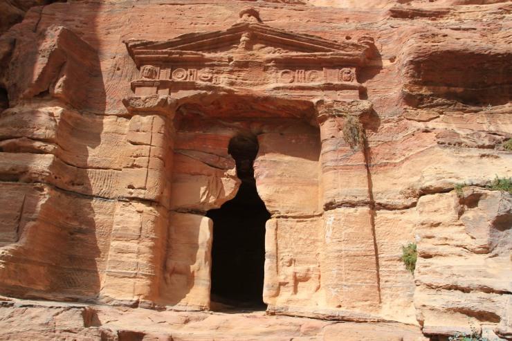The Lion Tomb, Petra, Jordan