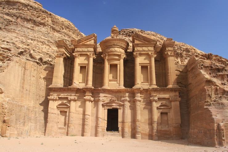 The Monastery or El Deir, Petra, Jordan