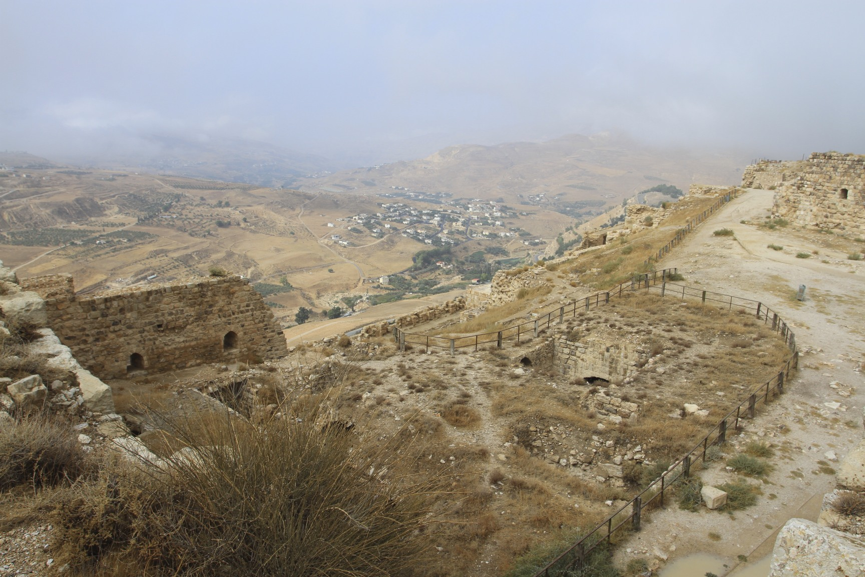 The Crusader fortress of Karak  notesfromcamelidcountry