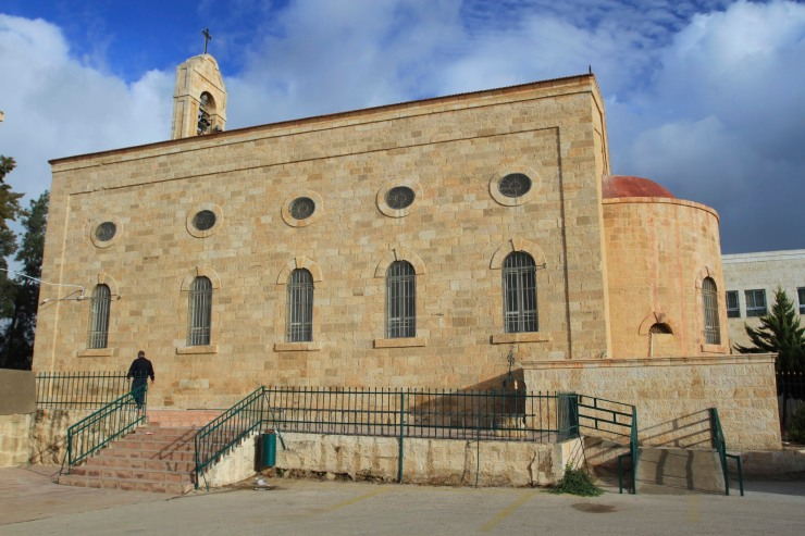 St. George's Church, Madaba, Jordan