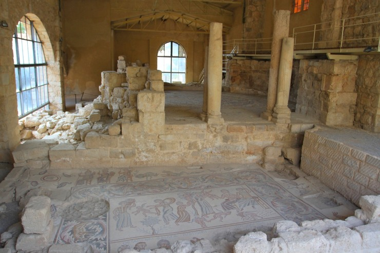 Church of the Virgin Mary, Madaba, Jordan