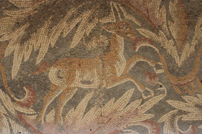 Mosaics, Church of the Virgin Mary, Madaba, Jordan