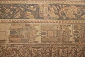 Mosaics, St. Stephen's Church, Umm er-Rasas, Jordan