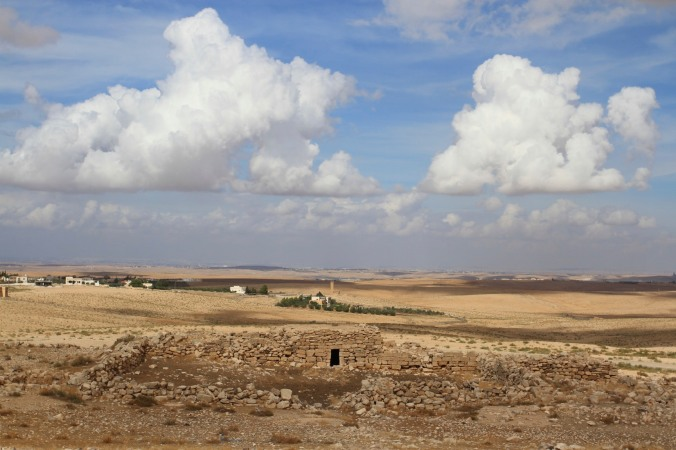 Stylites Tower seen from Umm er-Rasas, Jordan