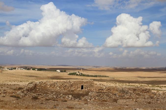 Stylites Tower seen from Umm er-Rasas, Jordan