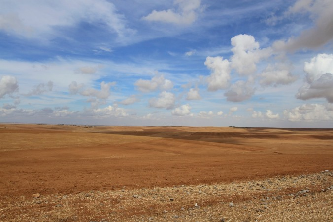 On the way to Umm er-Rasas, Jordan