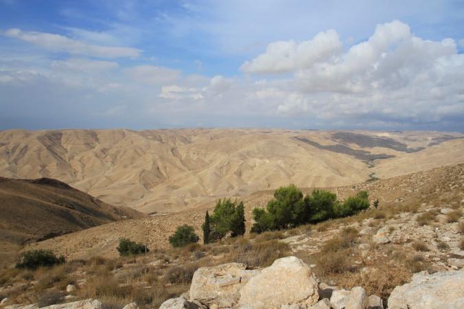 Landscape near Mukawir, Jordan
