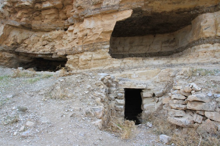 The cave where John the Baptist was beheaded? Mukawir, Jordan