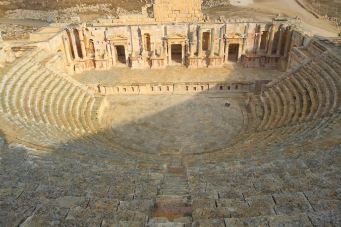 Southern ampitheatre, Jerash, Jordan