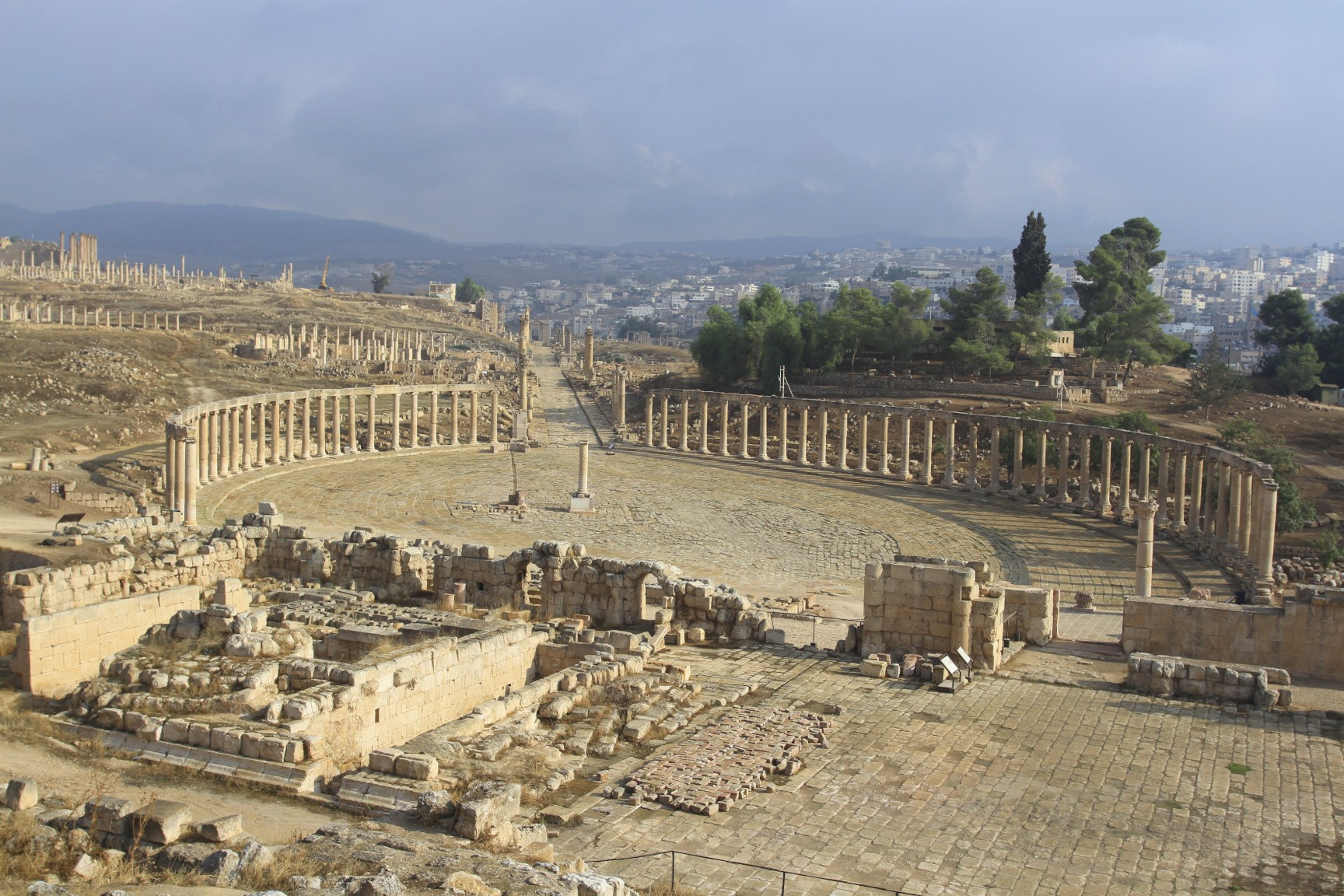 Jerash Roman Forum | notesfromcamelidcountry