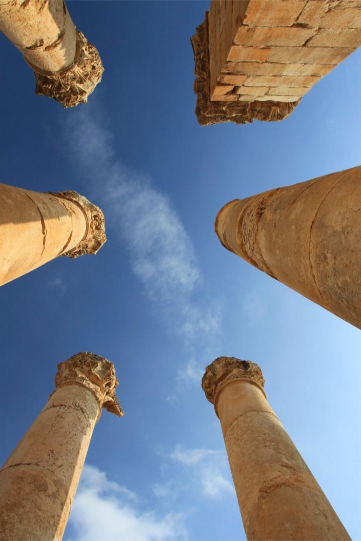 Columns, Jerash, Jordan