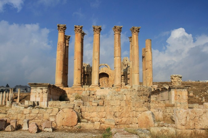 Temple of Artemis, Jerash, Jordan