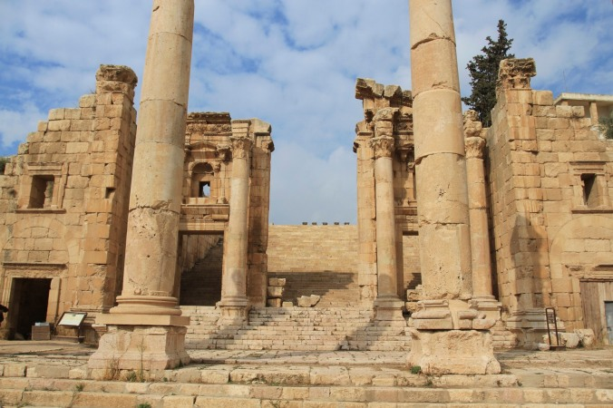 Gateway to the Temple of Atremis, Jerash, Jordan