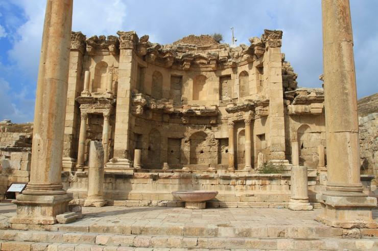 Nymphaeum, Jerash, Jordan