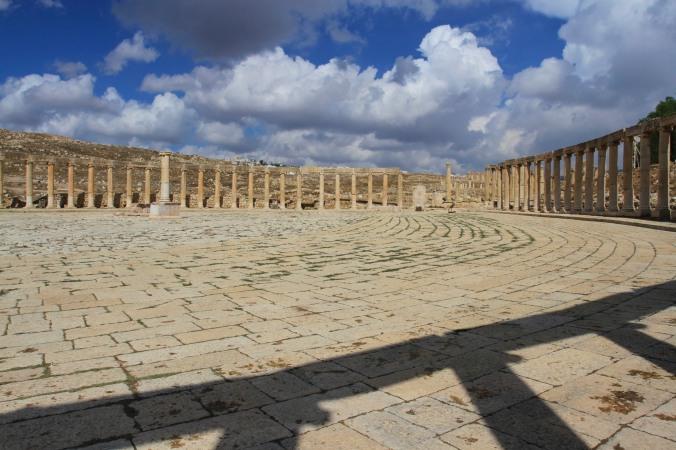 Forum, Jerash, Jordan