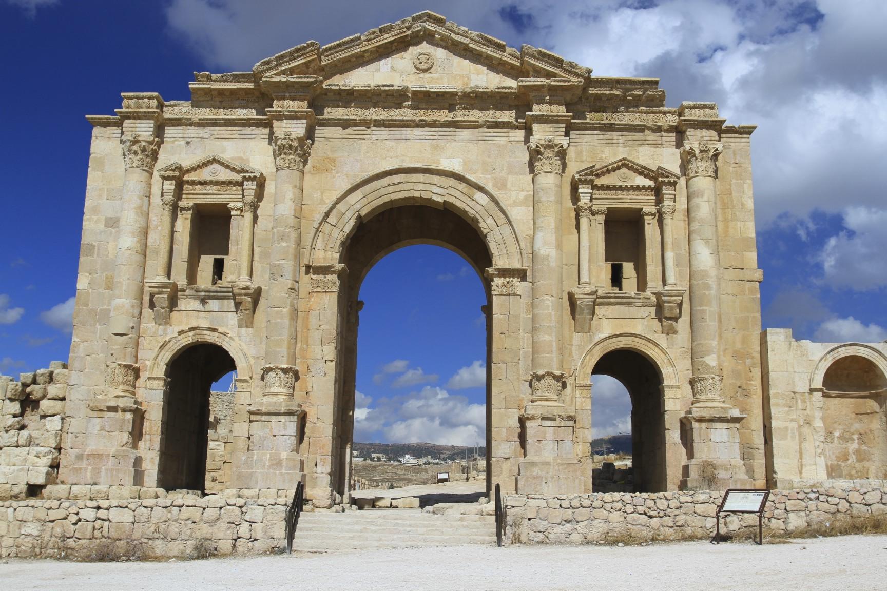 Jerash, Iconic Ionic  notesfromcamelidcountry