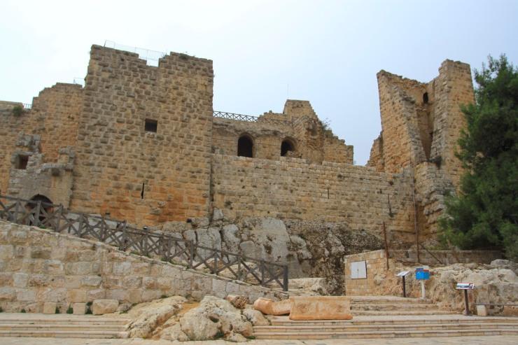 Ajlun Castle, Qal'at ar-Rabadh, Ajlun, Jordan
