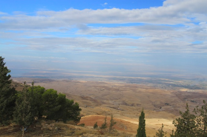 Views from Mount Nebo, Jordan