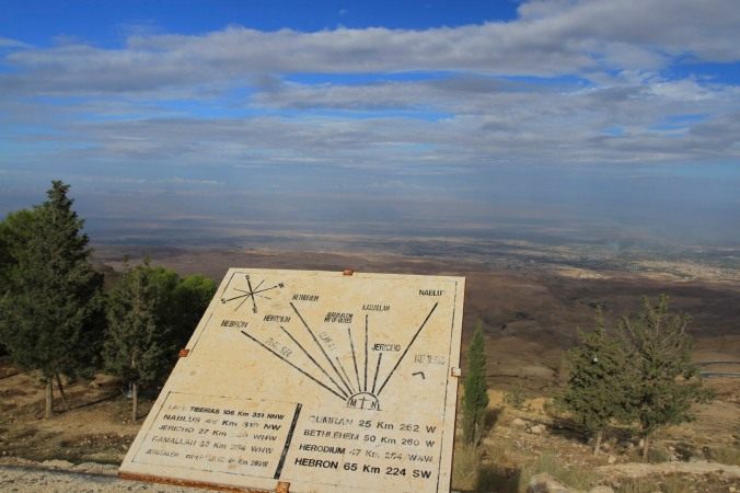 Views from Mount Nebo, Jordan